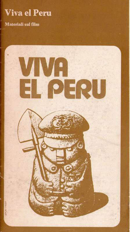 Viva el Peru. Materiali sul film